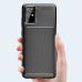 Capa Samsung Note 20 Silicone Antichoque Azul
