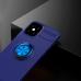 Capa de iPhone 12 Mini com Anel de Suporte Azul