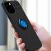 Capa iPhone 12 Pro Max com Anel de Suporte Preto