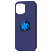 Capa iPhone 12 Pro Max com Anel de Suporte Azul