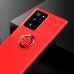Capa com Anel de Suporte Samsung Note 20 Ultra Vermelho
