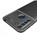 Capa Motorola One Fusion TPU Fibra de Carbono Marrom