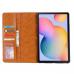 Capa Samsung Galaxy Tab A7 Flip Couro Vermelho