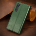 Capa de Couro para Motorola Edge Verde