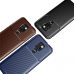Capa Motorola Moto G9 Play TPU Fibra de Carbono Azul