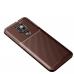 Capa Motorola Moto G9 Play TPU Fibra de Carbono Marrom