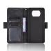 Capa de Couro para Xiaomi Poco X3 NFC Preto