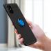 Capa Samsung M51 com Anel de Suporte Azul