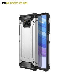 Capa Xiaomi Poco X3 NFC Armor Series Prata