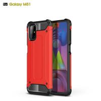 Capa Galaxy M51 Antichoque Vermelho