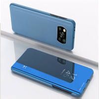 Capa Xiaomi Poco X3 Pro Flip Espelhado Azul