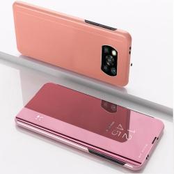 Capa Xiaomi Poco X3 Pro Flip Espelhado Rosê