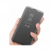Capa Xiaomi Poco X3 Pro Flip Espelhado Prata