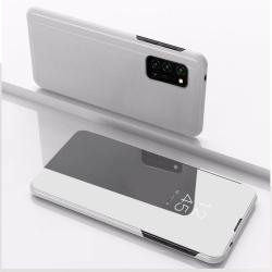 Capa Flip Espelhada Realme 7 Pro Prata