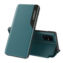 Capa Flip Samsung M51 Display Lateral Verde
