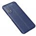 Capa Realme 7 TPU Textura Litchi Azul