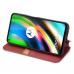 Capa Moto G9 Plus Flip PU Vermelho