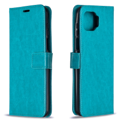 Capa para Moto G 5G Plus Flip Couro Azul