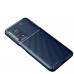 Capa Xiaomi Mi 10T / Mi 10T Pro TPU Fibra de Carbono Azul
