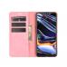Capa Realme 7 Pro Flip Couro Rosa