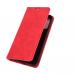 Capa Realme 7 Pro Flip Couro Vermelho