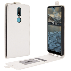 Capa Nokia 2.4 Vertical Flip Branco