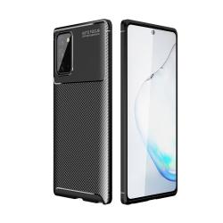 Capa Samsung S21+ Plus TPU Fibra de Carbono Preto