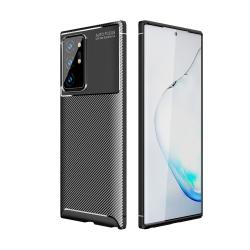 Capa Galaxy S21 Ultra TPU Fibra de Carbono Preto
