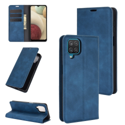 Capa Samsung A12 Flip Azul