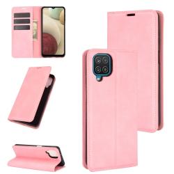 Capa Samsung A12 Flip Rosa
