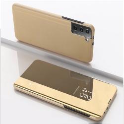 Capa Espelhada Samsung Galaxy S21 5G Dourado