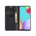 Capa Galaxy A52 Flip Couro Preto