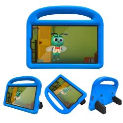 Capa Samsung Tab A7 Lite Infantil Azul