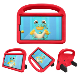 Capa Samsung Tab A7 Lite Infantil Vermelho