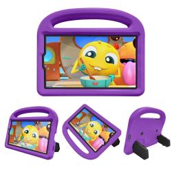 Capa Samsung Tab A7 Lite Infantil Roxo