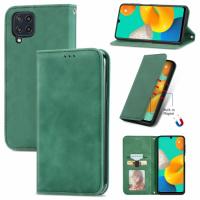 Capa Flip Carteira Samsung Galaxy M32 Verde