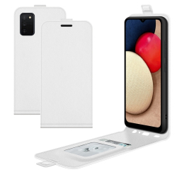 Capa Samsung Galaxy A03s Flip Vertical Branco