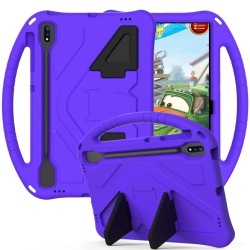 Capa Infantil para Samsung Galaxy Tab S7 FE Roxo