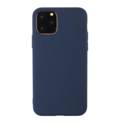 Capinha iPhone 13 PRO MAX Silicone Azul