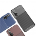 Capa Huawei Nova 5T TPU Fibra de Carbono Azul