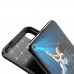 Capa Huawei Nova 5T TPU Fibra de Carbono Marrom