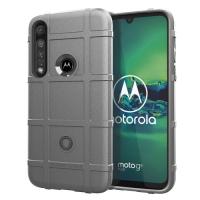 Capa Shield Series Motorola Moto G8 Plus Prata