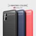 Capa Galaxy A51 TPU Fibra de Carbono Vermelho