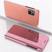 Capa Flip Espelhada Samsung Galaxy A71 Rosê