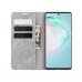 Capa Samsung Galaxy S10 Lite Couro Cinza