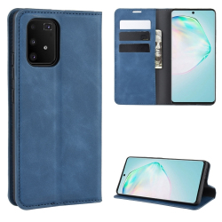 Capa Samsung Galaxy S10 Lite Couro Azul