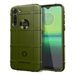 Capa Motorola Moto G8 Power Shield Series Verde