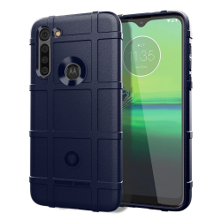 Capa Motorola Moto G8 Power Shield Series Azul