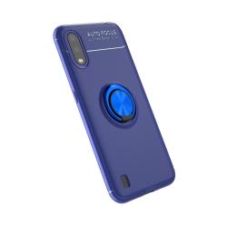 Capa Galaxy A01 com Anel de Suporte Azul