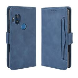 Capa de Couro Motorola One Hyper Azul